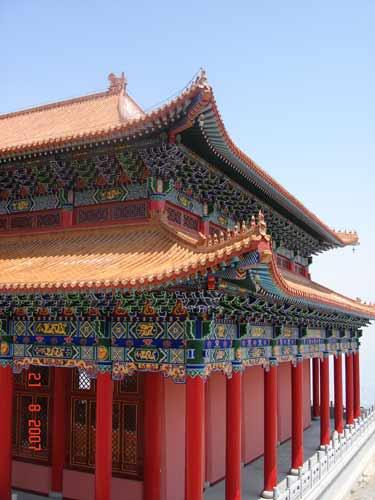 兰州兰山佛教文化院大雄宝殿已胜利竣工